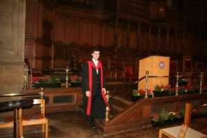 Photo from my PhD graduation